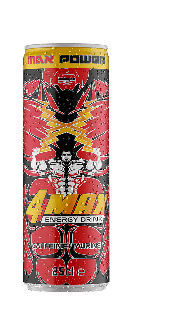 25cl can 4MAX Energy Drink