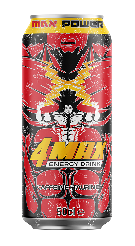 50ml can 4MAX Energy Drink